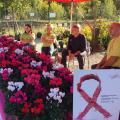 """Vente de Fleurs Solidaires et de Rubans Rose le Samedi 14 Octobre 2017 """"Portes Ouvertes Braconnier Paysages"""""""